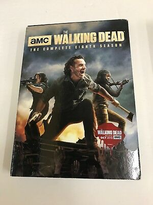 The Walking Dead:8 The Complete Eighth Season (DVD, 2018, 5-Disc Set) NEW