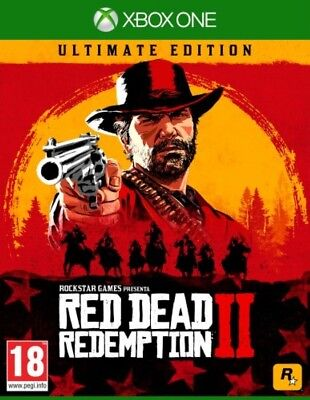 Red Dead Redemption 2 Ultimate Xbox One [NO DVD/NO CODE] Leggi Descrizione