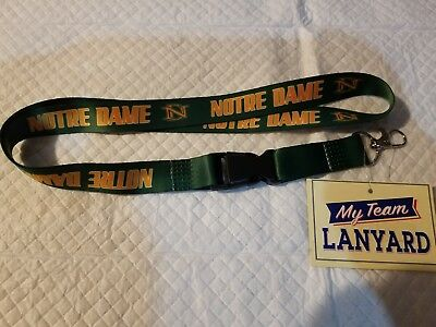 Notre Dame Lanyard Fighting Irish 2018 I'd Holder Ready For Cotton Bowl New