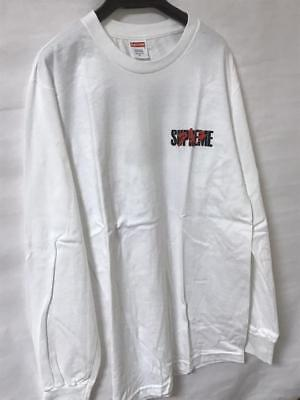 huge selection of 52849 94242 Supreme Akira T Shirt Long Sleeves White Small New Fashion Men Authentic  Japan