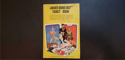 """James Bond Tarot Book """"Live and Let Die"""" Roger Moore"""