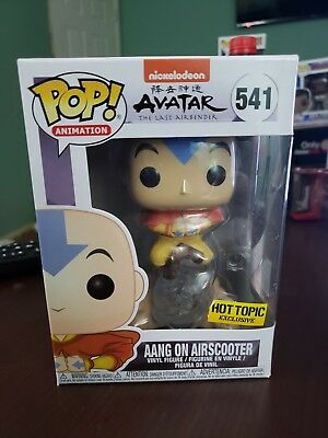 Funko Pop! Aang On Airscooter Avatar The Last Airbender Hot Topic Exc -In Hand
