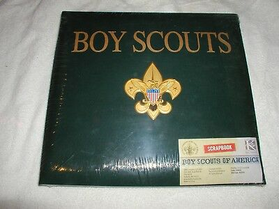 Boy Scouts Scrapbook-New & Sealed-Childhood Memories K&Company