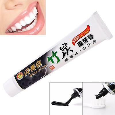Ecologic Bamboo Charcoal Black Whitening Toothpaste Whitener Tooth Paste 100g DI