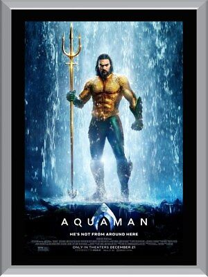 Aquaman Gold A1 To A4 Size Poster Prints