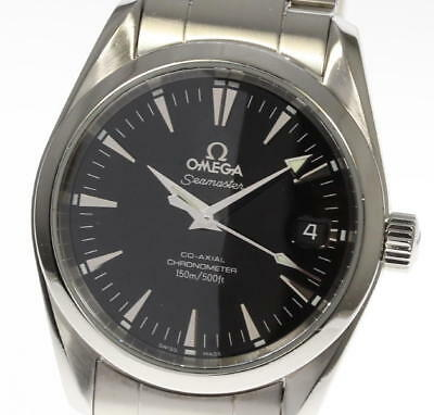 Omega Seamaster Aqua Terra 2504.50 Black Automatic Boys #CO290