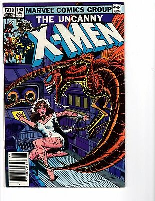 The Uncanny X-Men #163 - Bronze Age - (High Grade) *Scans*