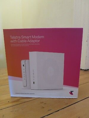 Telstra Smart Modem with Cable Adaptor BRAND NEW (in box), perfect new condition