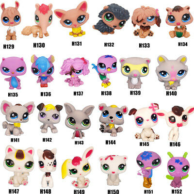 24PCS/Set Cutest Rare Littlest Pet Shop LPS Lot Figure Collection Cat Dog Toy
