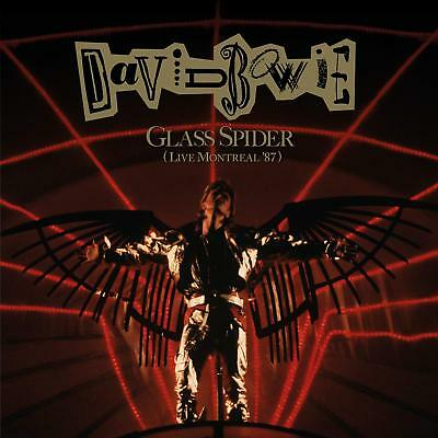 DAVID BOWIE 'GLASS SPIDER' (Live Montreal '87) (Remastered) 2 CD Set (15 Feb 19)