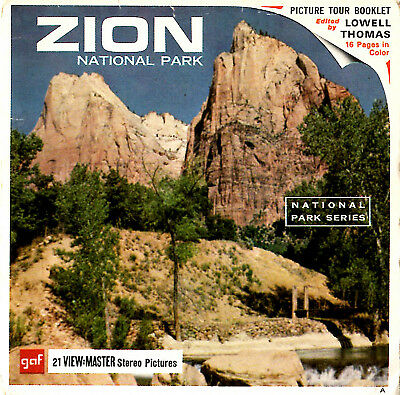 "GAF View-Master ""Zion National Park"""