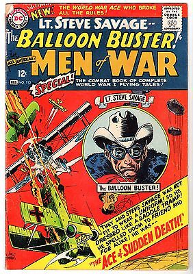 All American Men of War #113 Featuring The Balloon Buster, Very Good Condition