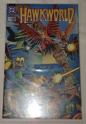 Hawkworld #14 VF/NM John Ostrander DC Comics Hawkman