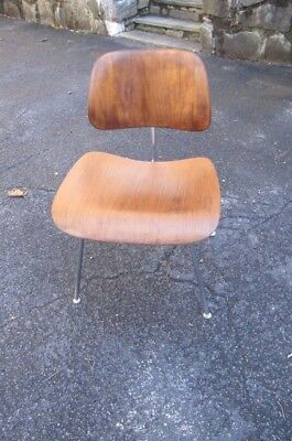 vintage 1950s HERMAN MILLER eames mid-century modern molded plywood CHAIR