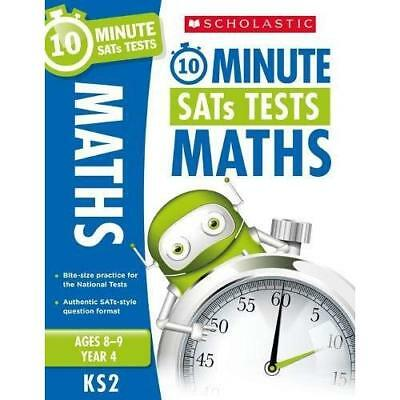 Maths - Year 4 (10 Minute SATs Tests) - Paperback NEW Hollin, Paul 07/06/2018