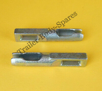 2 x Brake Cable Eyelet Connector for KNOTT Cables - Trailer Ifor Williams