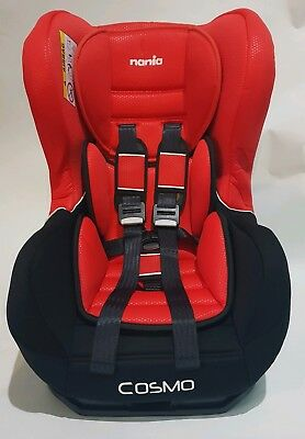 Nania Cosmo SP Group 0/1 Rear Forward Facing Recliner Car Seat CHILLI RED