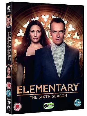 Elementary Season 6 DVD 6-Disc Brand New & Sealed Free Postage Box Set Region 2