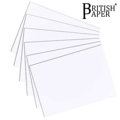 A4 A3 White Card Smooth Craft Paper Printer Thick Medium Thin Ream Gsm Cardboard