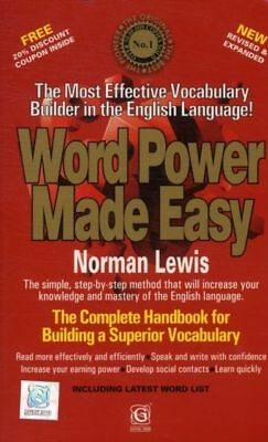 Word Power Made Easy (Paperback), Lewis, Norman Book