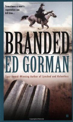 Branded by Gorman, Edward Book The Cheap Fast Free Post