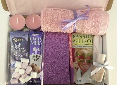 Pamper Gift Box Hamper For Her Birthday Mothers Day Mum Girlfriend Wife