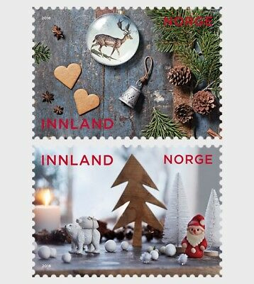 Noorwegen / Norway - Postfris / MNH - Complete set Christmas 2018
