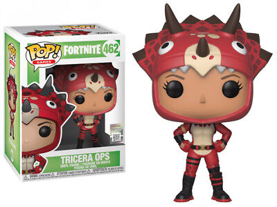Funko Pop! Games: Fortnite S2 TRICERA OPS #462 IN STOCK