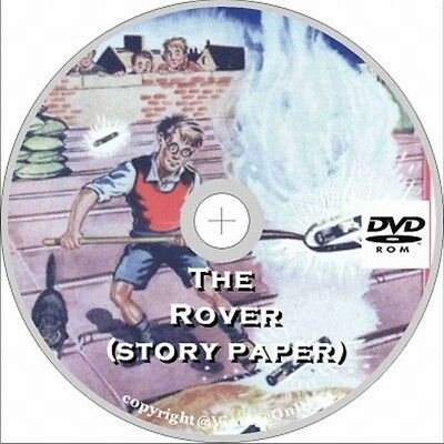 The Rover Story Paper 393 Issues Assorted