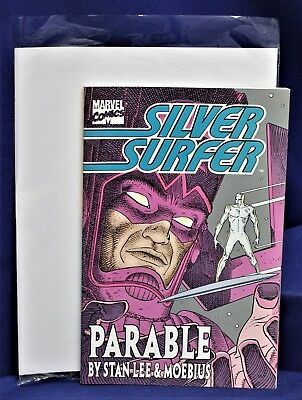 Marvel Comics  Silver Surfer Parable By Stan Lee & Moebius 1998