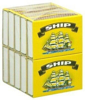 20 x Boxes Ship Safety Matches 20 Small Boxes approx 40 Matches per Box