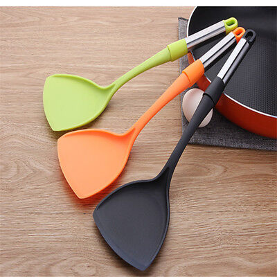 Home Nylon Kitchen Utensil Heat Resistant Cooking tools Spoon Shovel 8C
