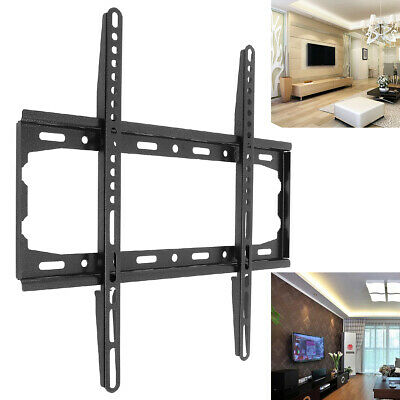 Universal TV Wall Mount Bracket Fixed Flat Panel TV Frame for 26-55 Inch LCD TV