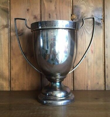 vintage large Air Cadets trophy, loving cup, trophies, trophy, table tennis