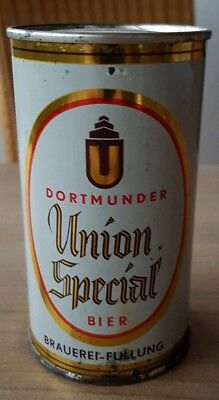 Nice Empty beer can from Germany. Dormunder Union flat top
