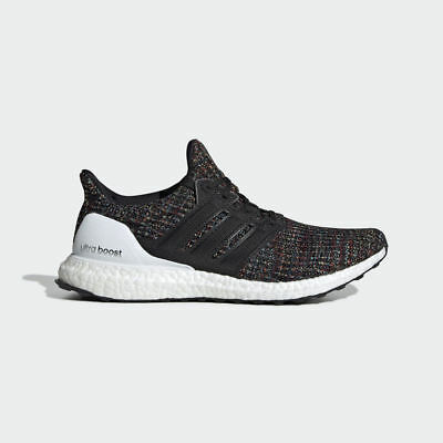 NEW Adidas UltraBOOST 4.0 F35232 Black Multi-Color White Mens Running Shoes