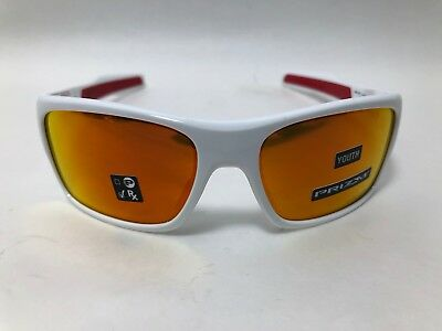 f1b2025e60 Oakley TURBINE XS YOUTH Sunglasses POLISHED WHITE PRIZM RUBY OJ9003-1257