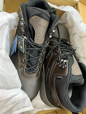 c47560b0a08 EDDIE BAUER MEN'S Everett Hiking Boots Shoes Waterproof Leather ...