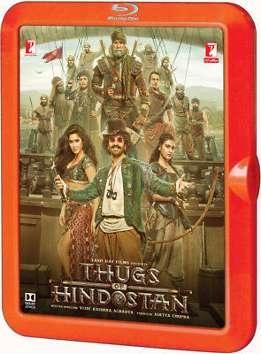 Thugs Of Hindostan Bluray - Aamir Khan - Bollywood Movie 2-Disc Special Edition