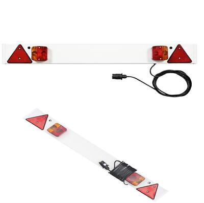 4ft Trailer Light Board with 5m Cable Touring Towing Caravan Car Lights Plug Pro
