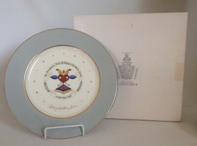 🔵 Rare 1953 Dwight Eisenhower Birthday Plate 1st Edition w/Box Castleton China