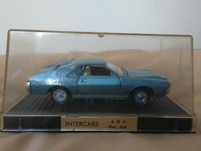 Miniatura 1:43 Nacoral Intercars Chiqui Cars Metal 104 AMX Javelin Made in Spain