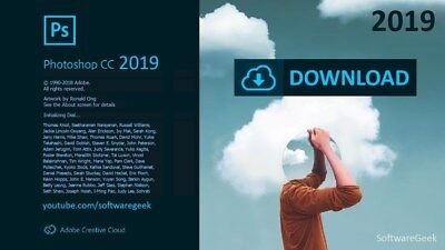 ADOBE  Photoshop CC 2019 x64 V20.0  software PC Windows life time all language