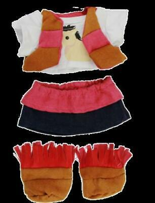 """16"""" NWT Teddy Bear Cowgirl Complete Outfit"""