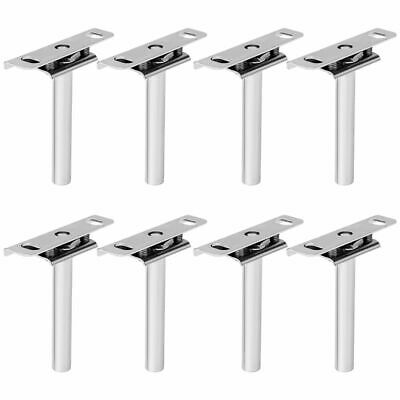 8 Pcs Concealed Invisible Floating Wall Mounting Shelf Support Hidden Brackets