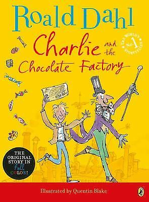 Charlie and the Chocolate Factory  (ExLib) by Roald Dahl