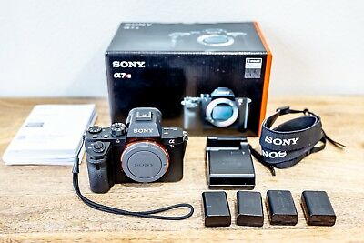 Sony Alpha A7R2 42MP Digital Mirrorless Camera with EXTRA BATTERIES