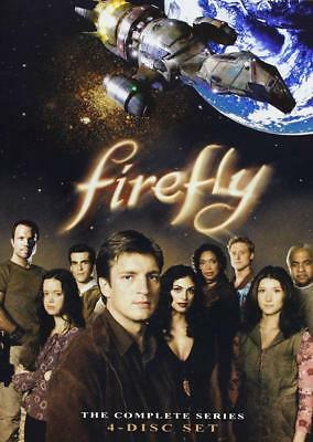 Firefly The Complete Series BRAND NEW 4-DISC DVD Box Set
