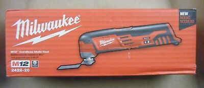 Milwaukee M12 12-Volt Lithium-Ion Cordless Multi-Tool (Tool-Only) 2426-20 NEW