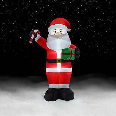 12 Ft Giant Santa Inflatable Airblown Christmas Decorations Outdoor